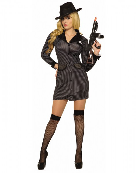 Costume Zoo  Gangsters Girl Adult Costume