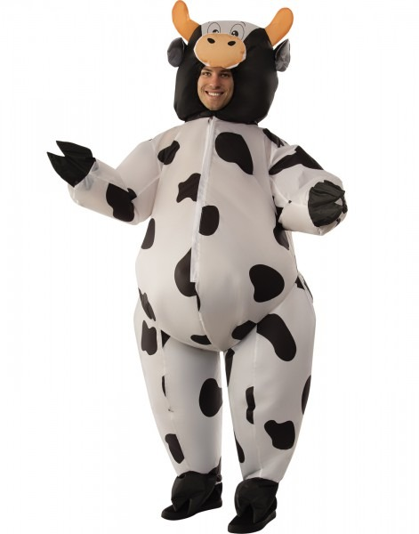 Costume Zoo  Adult Inflatable Cow Costume