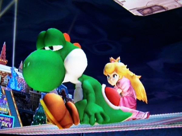 Yoshi And Peach  True Friends By Sdragon01