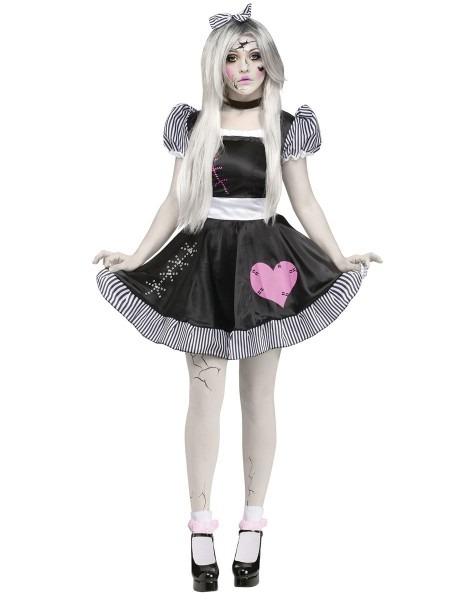 Broken China Doll Adult Womens Costume – Spirit Halloween