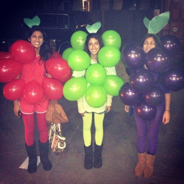 Grapes Halloween Costume Fruit Of The Loom Red Grape Green Grape