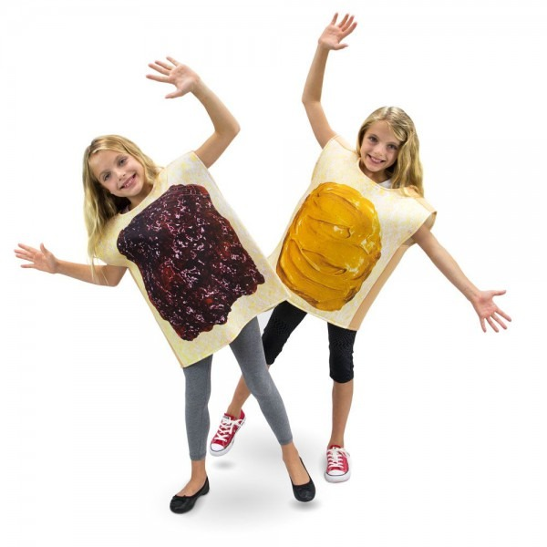 On Sale Now! Peanut Butter And Jelly Child's Costumes  Friends