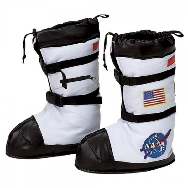 Halloween Nasa Astronaut Child Boot Covers