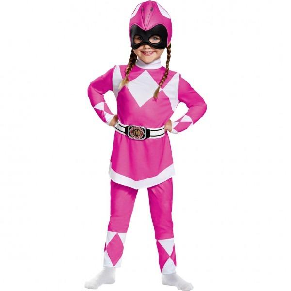 Disguise Ltd  Toddler Girls Mighty Morphin Pink Power Ranger