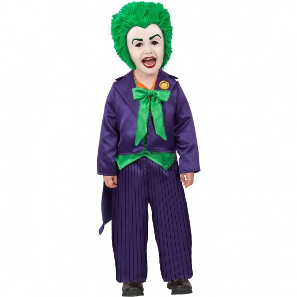 Princess Paradise Infant Boys Dc Batman Comics Joker Costume