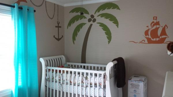 Baby Boy's Caribbean Pirate Nursery! — The Bump