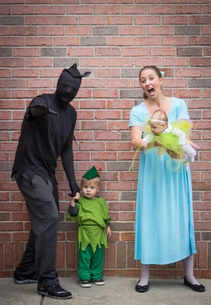 Peter Pan Family Costume Peter's Shadow, Peter Pan, Wendy And