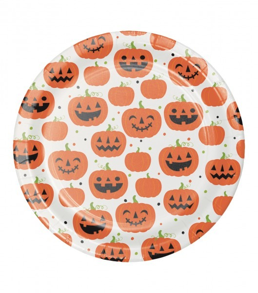 Maker's Halloween 8 Pk 8'' Dinner Plates
