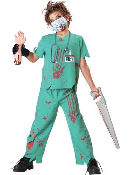 Incharacter Dr  N  Sane Md Surgeon Halloween Costume Boy's 8