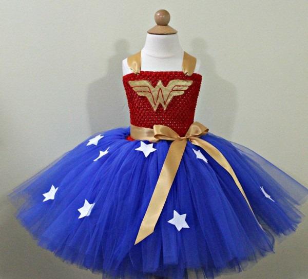 Wonderwoman Tutu Dresswonder Woman Costumewonderwoman Dress