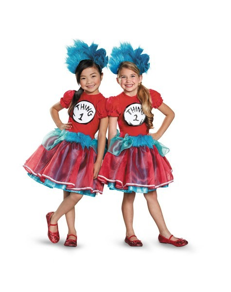 Thing 1 And 2 Tutu Child Costume Exclusively At Spirit Halloween