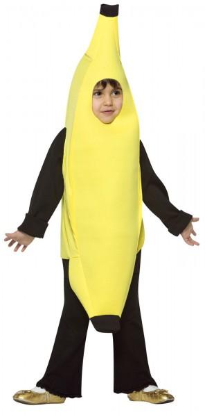 Banana Child Costume Boys Fruit Food Yellow Halloween Toddler