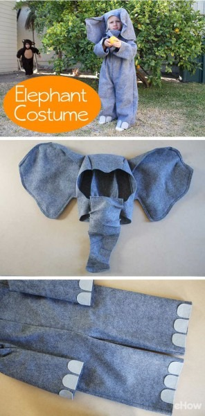 How To Make An Elephant Costume