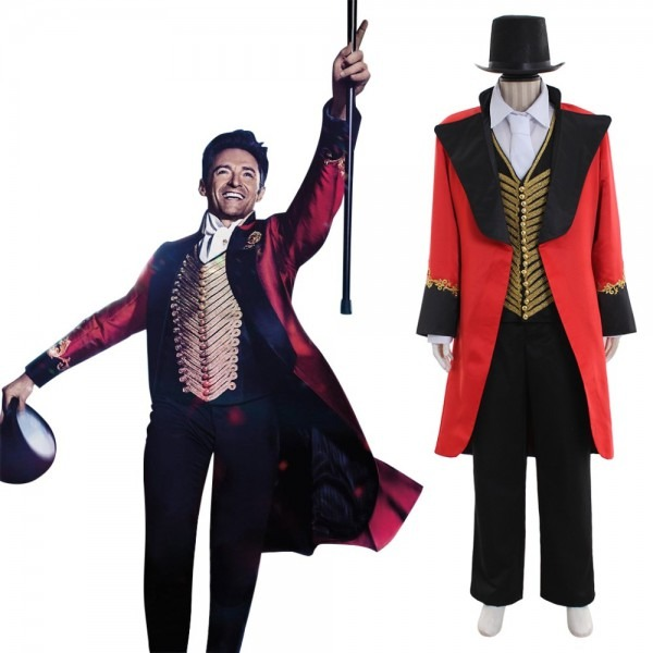 2017 The Greatest Showman Cosplay Costume Adult Mens The Greatest