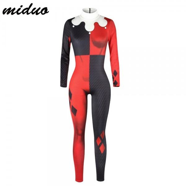 2019 Carnaval Costumes For Female Sexy Long Sleeve Bodysuit Plus