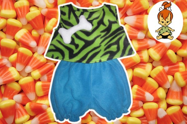 The Perfect Pebbles Flintstone Costume For Toddlers