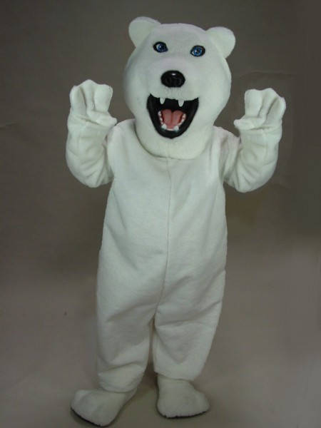 Buy Polar Bear Costume 21012 Bear Mascot Costume