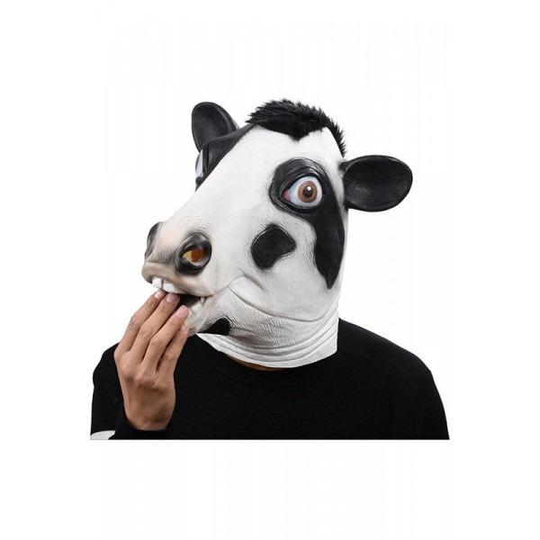Halloween Animal Mask Latex Masks Cow Head Full Face Mask