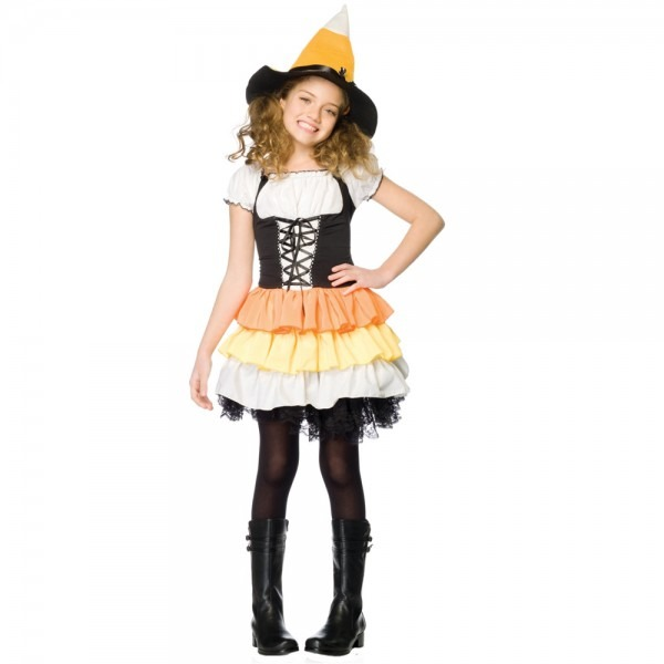 Witch Costume For Teens & Kandy Korn Witch Child Costume Cute
