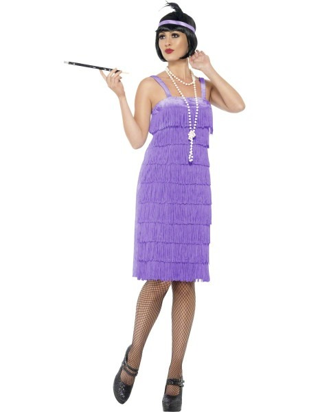 Lilac Jazz Flapper Costume