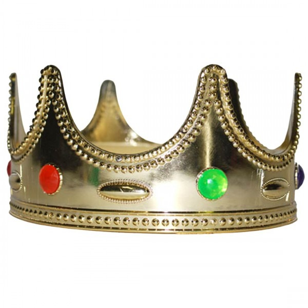 King Or Prince Gold Crown