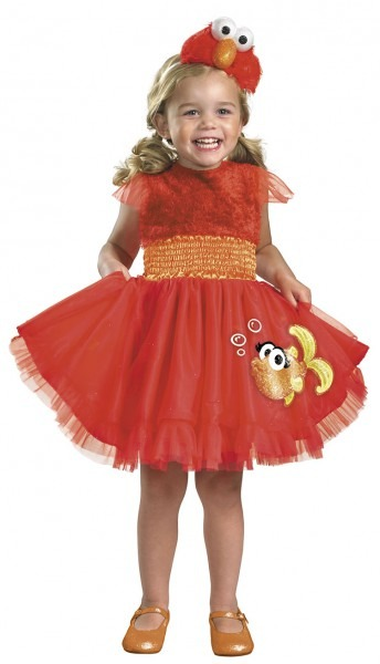Toddler And Baby Frilly Elmo Costume   Costumes Life