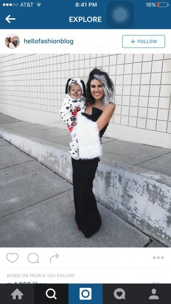 Cute Mother And Daughter Son Costume