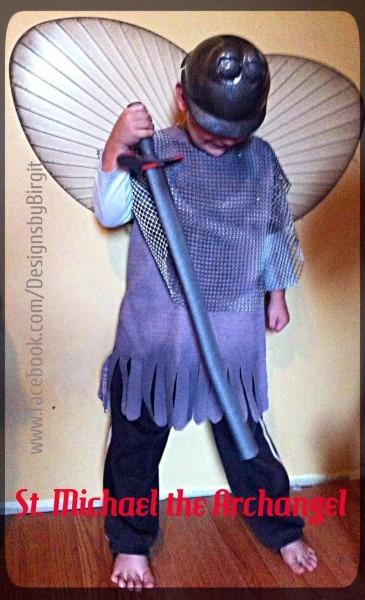 Designs By Birgit  St  Michael The Archangel Costume For Catholic