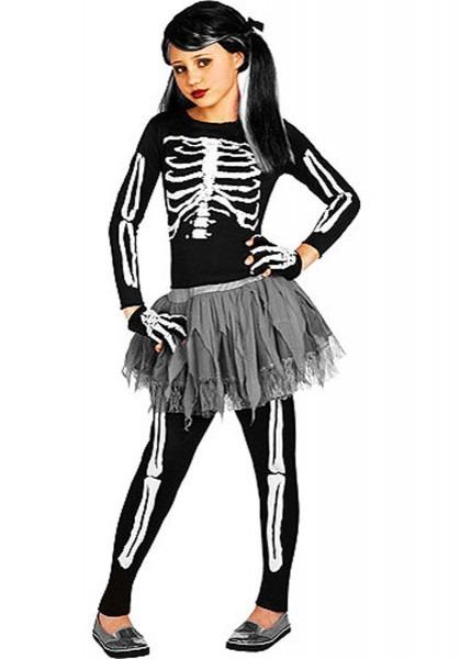 White Skeleton Costume