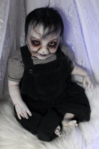 Zombie Walking Dead Z Nation Reborn Baby Doll Horror 23  Rotten