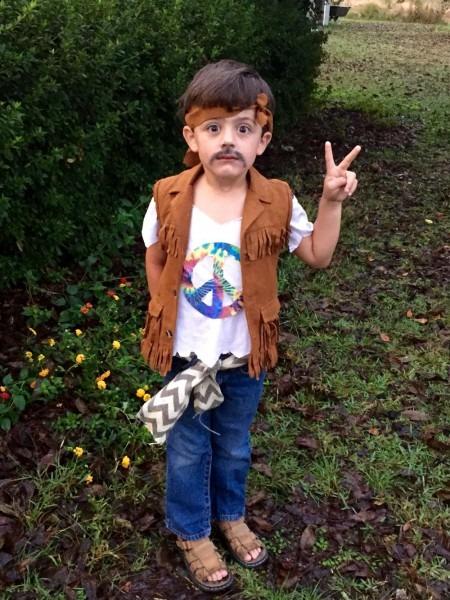 Hippie Diy Costume