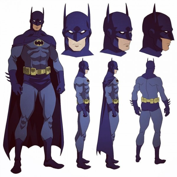 Dick Grayson Puts On The Blue And Grey Suit In Batman  Bad Blood