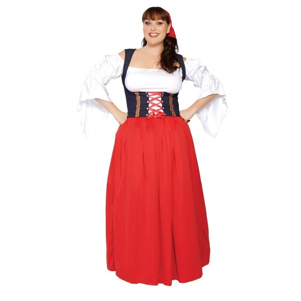 Sexy Plus Size Costumes~swiss Miss~adult Halloween~ New