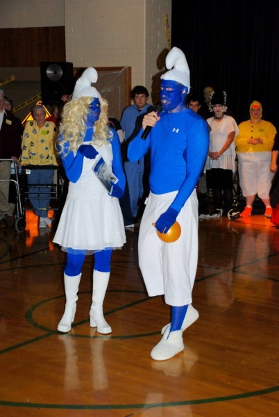 Eric And I Can Wear This To Our Halloween Party! Smurf Costumes