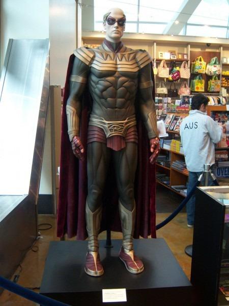 Ozymandias Costume On Display At The Arclight Theater