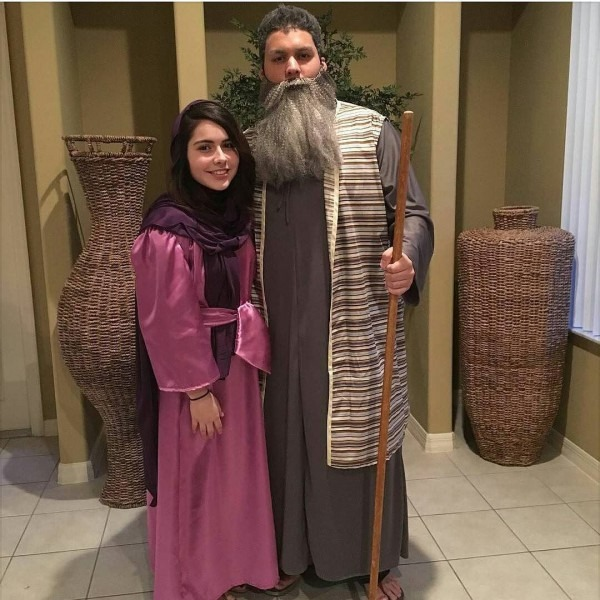 Bible Character Costume Party  These Are My Son And Daughter
