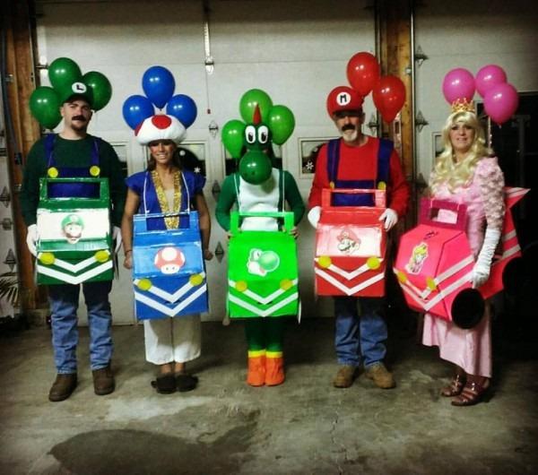 Mario Kart Halloween Costume  Mariokart  Handmade  Halloween