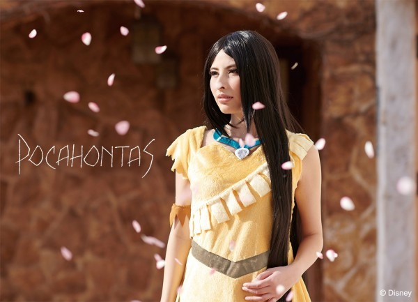 Online Shopping Allcam  Pocahontas Disney Indian Lady's Disney