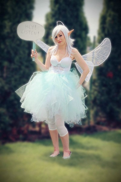 Hey Listen  Amazing Navi (legend Of Zelda) Cosplay [pics]