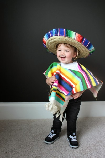 Diy Costume For Littles  Mexican Serape – Love And Lion