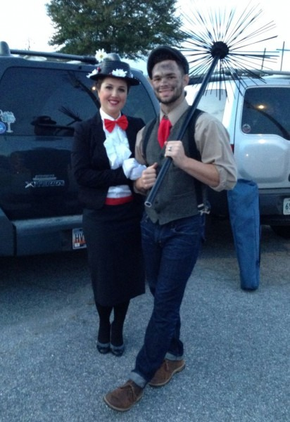 Mary Poppins And Bert The Chimney Sweep Halloween Costume And
