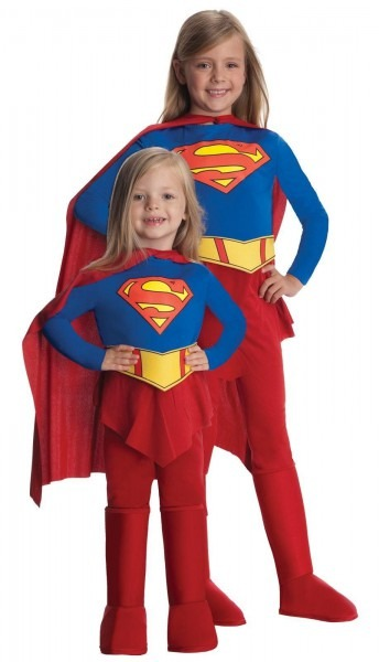 Dc Comics Supergirl Toddler   Child Girl's Costume