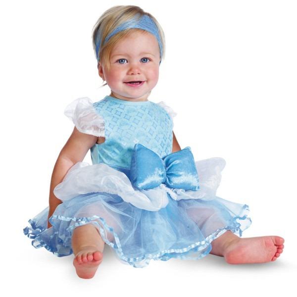 Acomes  Child Use Of The Halloween Baby Disney Costume Cinderella