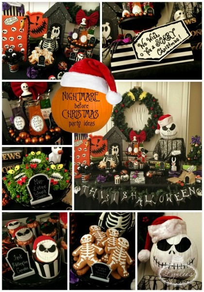 Nightmare Before Christmas Party Ideas  I Love The Man Eating