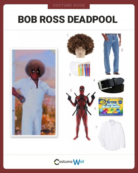 Dress Like Bob Ross Deadpool