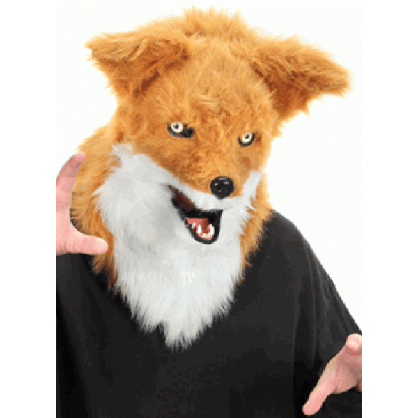 Fox Mouth Mover Mask Furry Cosplay Head Fox Mask