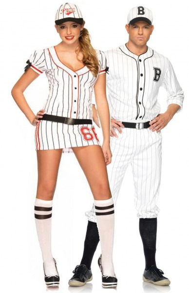 Couples Costumes  Halloween Costumes For Couples  Batter Up! Gotta