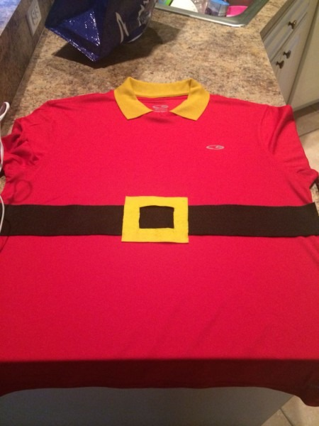Diy Gaston Running Dry Fit  Gaston Costume  Beauty And The Beast