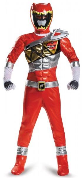 Power Rangers Dino Charge Red Ranger Prestige Child Costume