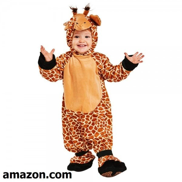 Toddler Giraffe Halloween Costume (size 1